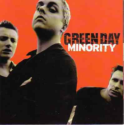 GREEN DAY Minority EP PICTURE SLEEVE 45 Rpm 7  NEW RARE + Juke Box Title Strip • 14.38£