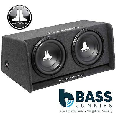 JL Audio JL CP212-W0V3 BassWedge 12  600W Double Ported Car Sub Woofer Bass Box • 349.99£