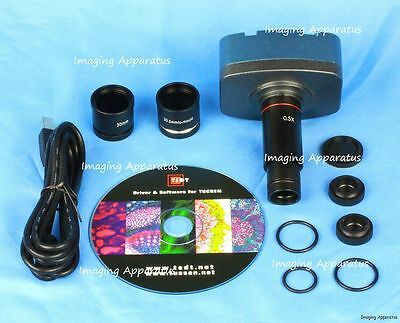 $199 • Buy 10.0 Mp Usb Cmos Microscope Digital Color Camera Eyepiece And Video System, New