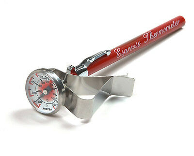 $9.50 • Buy Espresso, Cappuccino Coffee, Latte, Steamed Milk Frothing Thermometer. New