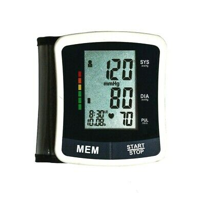 £16.99 • Buy Wrist Blood Pressure Monitor Automatic With Large Digital Display