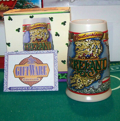 $ CDN39.84 • Buy 2002 Bud/ St. Patrick's Day Tradition & Heritage  Stein