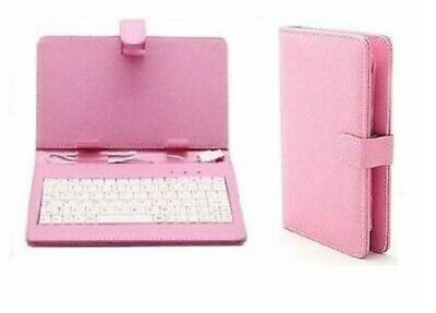 AU12.46 • Buy 7'' Inch Leather Case Cover USB Keyboard Stylus For Android Tablet 5 Colours