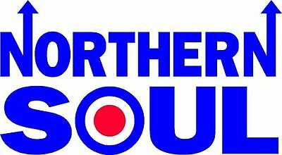 NORTHERN SOUL Vinyl Decal Sticker MOD SCOOTER Car Window Sticker • 3£
