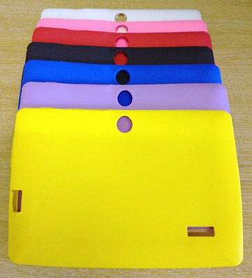 £2.95 • Buy 7  INCH SILICONE RUBBER CASE FOR ANDROID TABLET ALLWINNER A13 A23 Q8 Q88 Gift