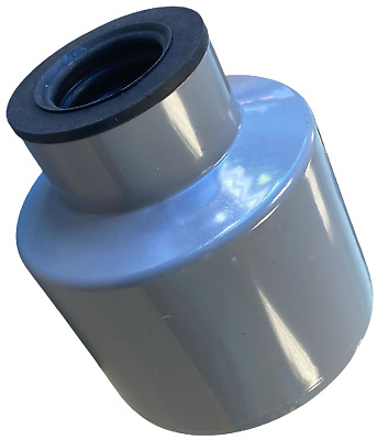 Waste Pipe To Soil Pipe Adapter Cap Pipe Reducer 110mm To 40mm Or 43mm 1 1/2  G • 14.99£
