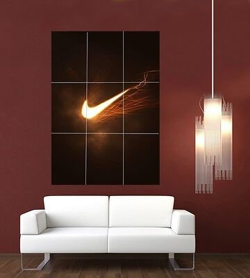 Nike Giant XL Section Wall Art Poster L115 • 14.94£