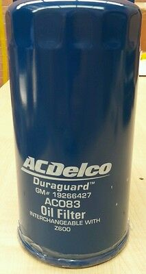 AU23.75 • Buy OIL FILTER RA RODEO COLORADO 3.0 DIESEL 2007-11 AC083 AcDelco New OE Level Z600