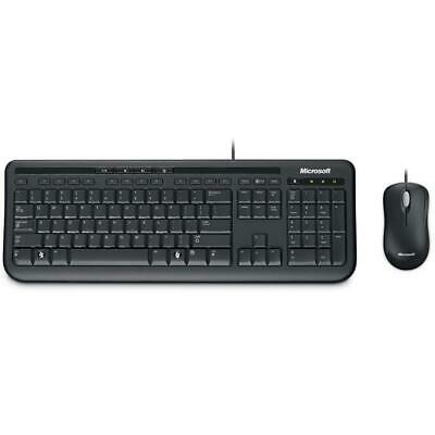 AU32 • Buy Microsoft Wired Desktop 600 Keyboard And Mouse Combo Membrane Standard NEW