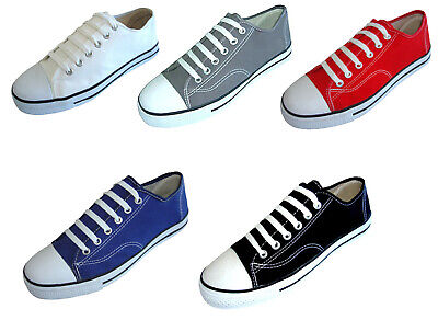 $12.89 • Buy New Men's Canvas Sneakers Classic Lace Up Fashion Casual Shoes Colors, Size:7-13