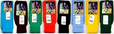 £7.25 • Buy Socks Athletic Sports Over The Calf Tube Ribbed Knit Leg Cushioned Foot Russell