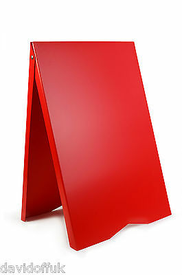 A-board Pavement Advertising Menu Sandwich Board Sign Free Delivery Available • 31£
