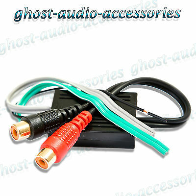 2 Channel RCA Line Input Output High To Low Level Converter Adaptor Lead CTLOC10 • 3.07£