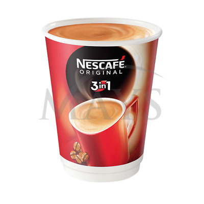 40 Nestle Nescafe & And 2 Go 3 In 1 Coffee Foil Sealed  In Cup Hot Drink Vending • 28.97£