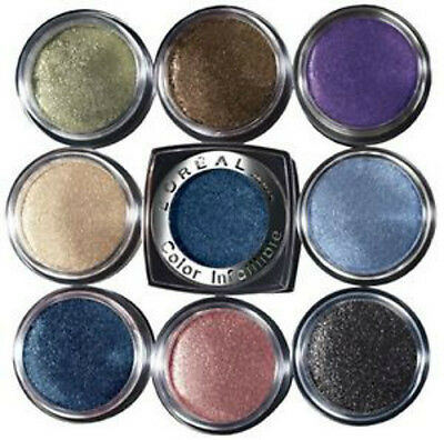 L'Oreal 24HR Color Infallible Eyeshadow Glitter Powder [16 Shades Available] • 3.95£