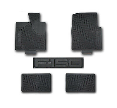 OEM NEW 2004-2008 Ford F-150 CREW CAB All-Weather Vinyl Floor Mats Rubber • 101.55$
