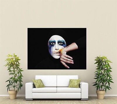Lady Gaga Giant 1 Piece  Wall Art Poster M131 • 3.44£