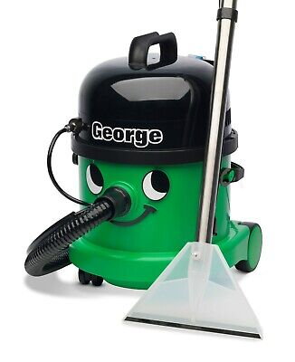 £238.99 • Buy George Carpet Cleaner Vacuum GVE370- Dry & Wet Use - NEXT WORKING DAY DELIVERY