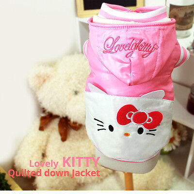£19.41 • Buy Luxury Pet Apparel- HelloKitty Winter Clothes Pink Small-XLarge Shirt Hoodie Dog
