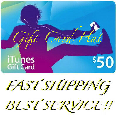 AU84.99 • Buy $50 US ITUNES CARD Gift Voucher Certificate Apple USA USD ITune 100% Genuine