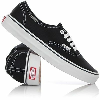 AU84.99 • Buy Vans Shoes Authentic Black White USA SIZE Classic Skateboard Sneakers FREE POST