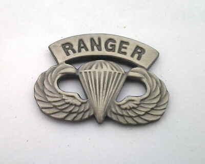 $5.94 • Buy US ARMY AIRBORNE PARATROOPER RANGER WINGS (1-1/4 ) Military Hat Pin 14747 HO