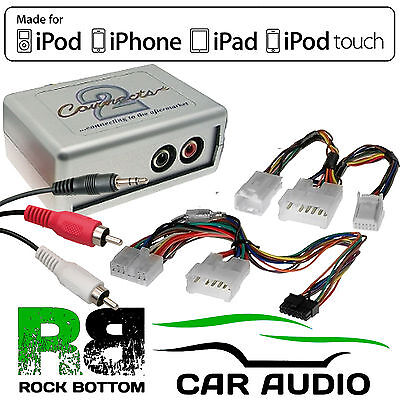 CTVTYX002 For Toyota Avensis 2004-13 Car Aux Input IPhone IPod Interface Adaptor • 34.95£