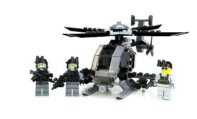 £42.91 • Buy AH-6 Little Bird With 3 Rangers Army Helicopter Made W/ Real LEGO® Bricks