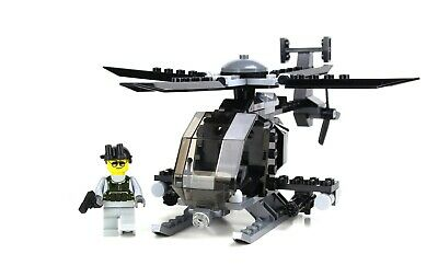 £32.73 • Buy AH-6 Little Bird With 1 Minifigure Army Helicopter Made With Real LEGO® Bricks