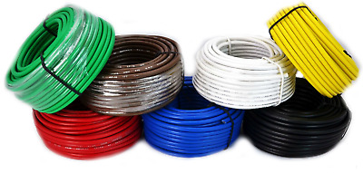 AU37.27 • Buy 4 Rolls Audiopipe 50' Feet 10 Gauge AWG Primary Remote Wire Auto Power Cable