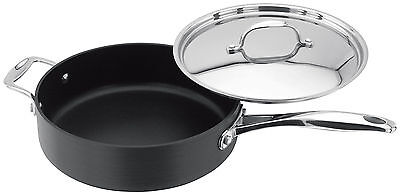 £69.95 • Buy Stellar 6000 Hard Anodised Non-Stick 24cm Saute Deep Frying Pan With Lid S618