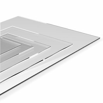 Shatterproof Acrylic Mirror Perspex A4 Size (210*297) 3 Mm Thick • 9.99£