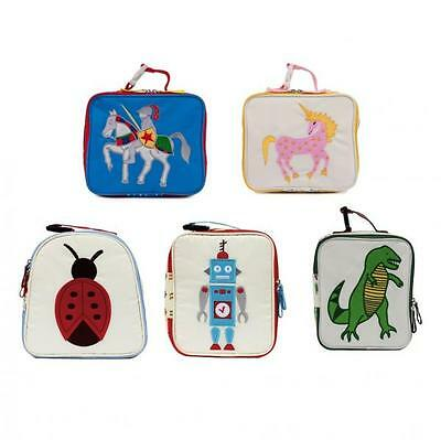Pink Lining Child School Nursery Childrens Lunch Box Ladybird, Damsel, Knights • 9.95£