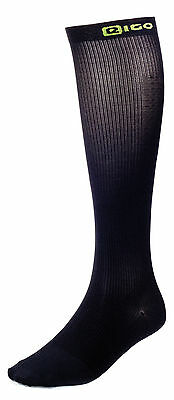 New Cycling High Compression EIGO RECOVERY Socks In Black Free P&P • 9.99£