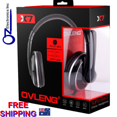 Headset Headphone With Microphone Silver & Black Colour New For PC SKYPE • 15.51£