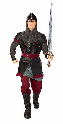 £38.93 • Buy Medieval Man Knight Warrior Royal Guard Fancy Up Dress Halloween Adult Costume