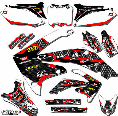 $159.99 • Buy 2004 2005 Crf 250r Graphics Kit Crf250r 250 R Deco Sticker Decals 4-stroke