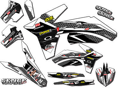 $129.99 • Buy 2004 2005 Crf 250r Graphics Kit Crf250r 250 R Deco Sticker Decals 4-stroke