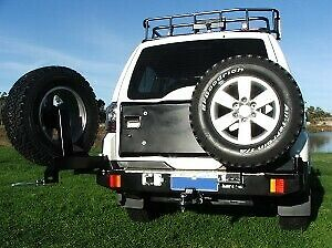 AU3330 • Buy Outback Accessories' Dual Wheel Carrier Mitsubishi Pajero Glx & Vr-x Ns-nx