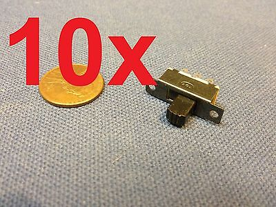 $8 • Buy 10x  Mini SPDT Slide Switch On-Off PCB 6P 2T 23.3*7.3MM Pitch Row 19MM Toggle C1