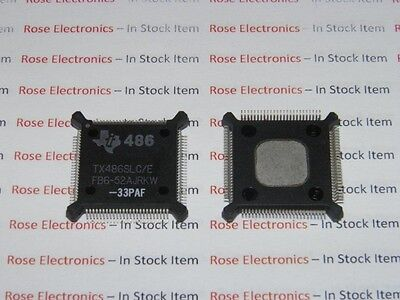 AU18.07 • Buy TX486SLC/E-33PAF Texas Instruments Processor NEW QFP Package Vintage