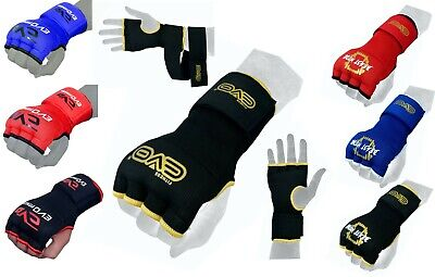 $ CDN10.53 • Buy EVO Boxing Inner Gel Gloves Quick Hand Wraps Punch Bag Training MMA Martial Art