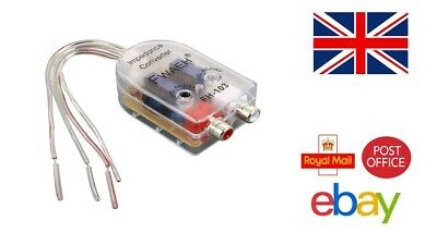 £5.99 • Buy 2-Channel High Low Level RCA Line Output Converter New Model Top Quality Fast UK