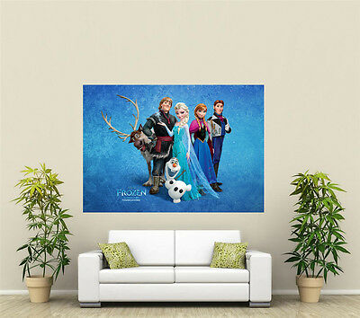 Frozen Giant 1 Piece Wall Art Poster KR142 • 18.39£
