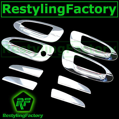 $35.65 • Buy Triple Chrome 4 Door Handle+No PSG Keyhole Cover For 02-06 Nissan Altima