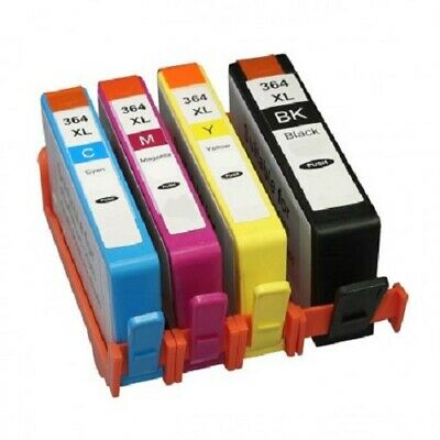 4 BVH 364xl Ink Cartridges For HP Photosmart 5510 5515 5520 5524 6510 C6380  • 9.99£