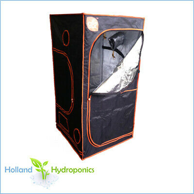 AU135.95 • Buy GROCELL GC120 TENT (120x120x200cm) Hydroponics Silver Mylar Grow/Dark Room Box