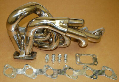 $230.27 • Buy 86-91 E30 M20 2.5/2.7 T3 T4 Stainless Top Mount Racing Turbo Exhaust T3T4 NEW