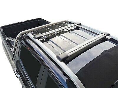 AU219.95 • Buy Alloy Roof Rack Slim Cross Bar For SsangYong Musso 2018-21 With Rail Fitted