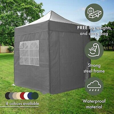 2m Pop Up Gazebo With Sides Waterproof Garden Marquee Tent Canopy Airwave • 99.99£